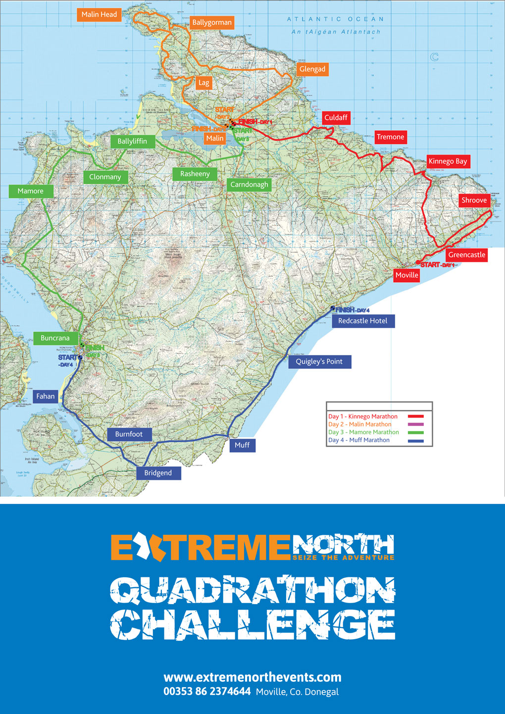 Location Inishowen Donegal Extreme North Events Click On Image To View Full Size